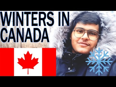 WINTERS In CANADA   TIPS And INFORMATION About SNOW   VLOG