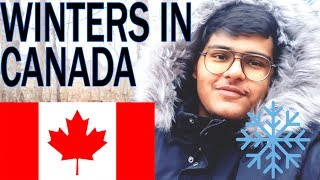 WINTERS in CANADA | TIPS and INFORMATION about SNOW | VLOG