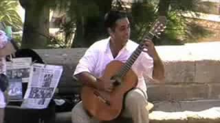 Mariano Miranda Amazing Guitarplayer in Palma de Mallorca