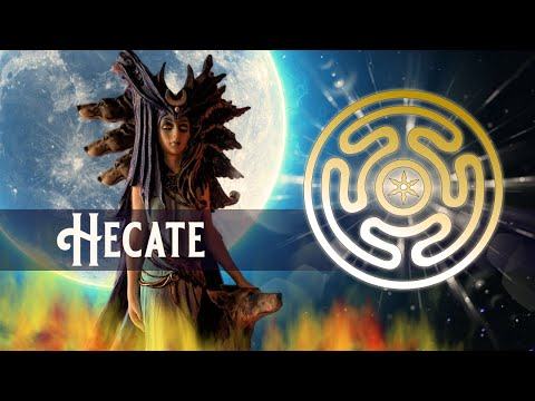 Hecate - Goddess of Magic, Sorcery and witchcraft...