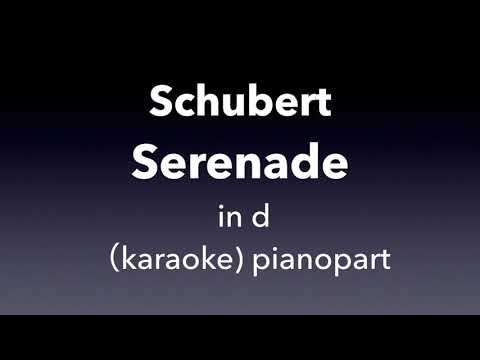 Serenade   F. Schubert  in d  karaoke