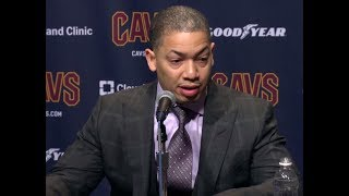 Tyronn Lue Postgame Interview | Thunder vs Cavaliers | Jan, 20