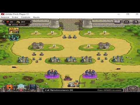 Kingdom Rush The Citadel speedrun 7:43 (easy/casual) (flash) |