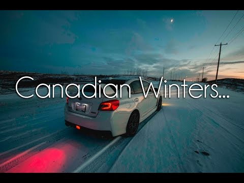 -30°C Winter In Canada...