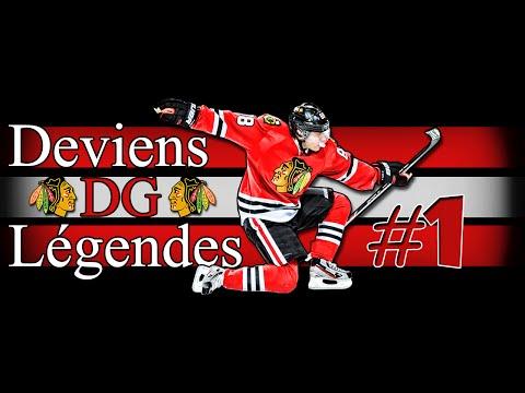 """NHL 15 - DG Légendes """"Hawks"""" Ep.1 - Le retour du Rocket!!"""