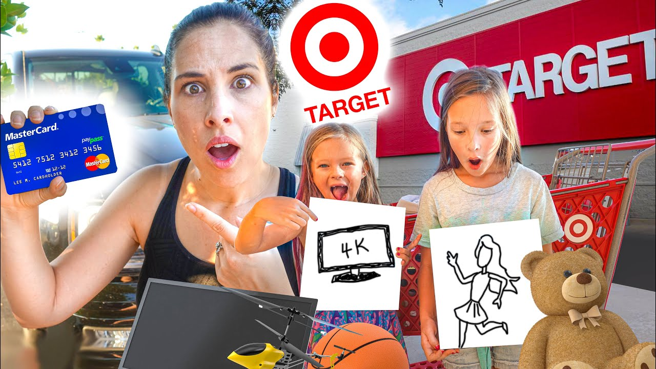 THE TARGET NO LIMIT NO BUDGET! ANYTHING YOU DRAW