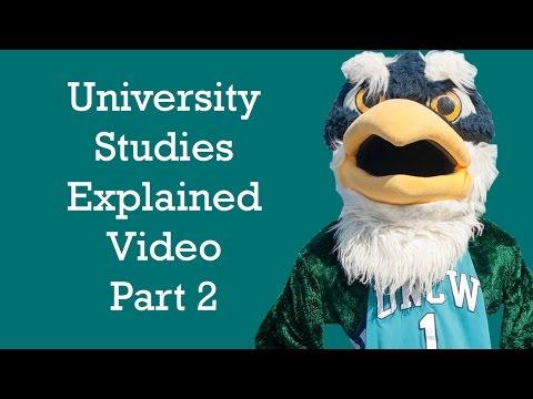 University Studies Part2 FYSA
