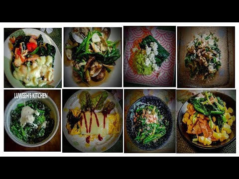 8 Easy SPINACH Recipes Idea