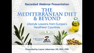 The Mediterranean Diet and Beyond: Lifestyle Lessons from Europe's Healthiest Countries