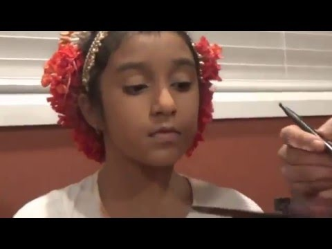 Quick makeup for classical dance