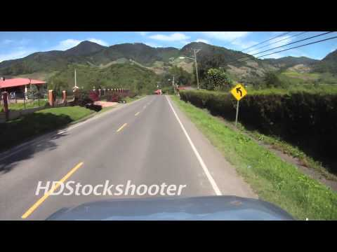 Drive from Las Nubes to Volcan, Panama