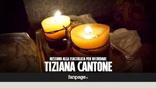 Tiziana Cantone, nessuno alla fiaccolata: