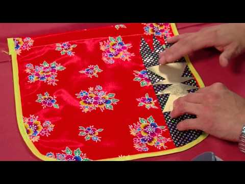 Making Regalia - Episode 10 - Continuation of Boy's Fancy Apron