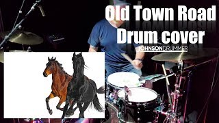 Old Town Road - Drum Cover - Lil Nas X (feat. Billy Ray Cyrus) [Remix]