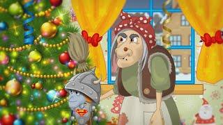 Мультики про Деда мороза Бабу Ягу Кощея сборник 3 мультика