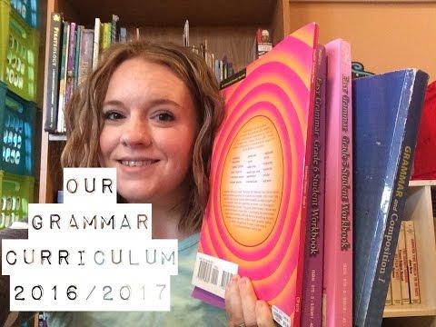Our Grammar Curriculum 2016/1027