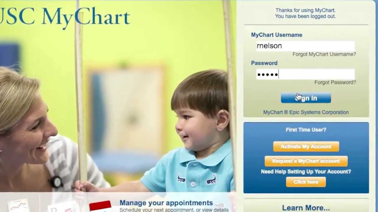 MUSC Health Primary Care and MUSC MyChart