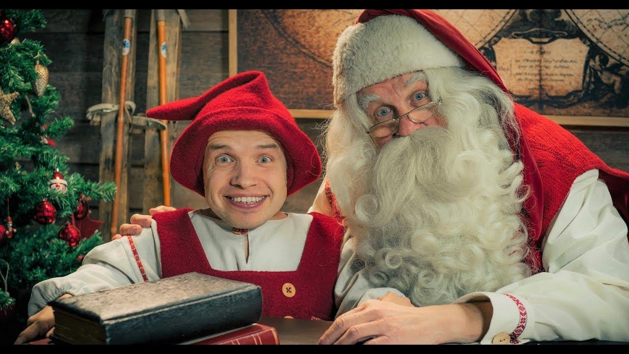 Lutin Pere Noel Message vidéo du lutin du Père Noël Kilvo Elf en Laponie Finlande