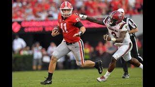 #1 Georgia Highlights Vs. South Carolina 2017 | CFB Week 10 | College Football Highlights 2017