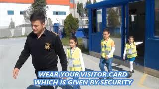 ALİMEX ziyaretçi iş güvenliği filmi(İngilizce alt yazı)