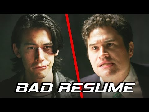 If Action Heroes Had Your Resume