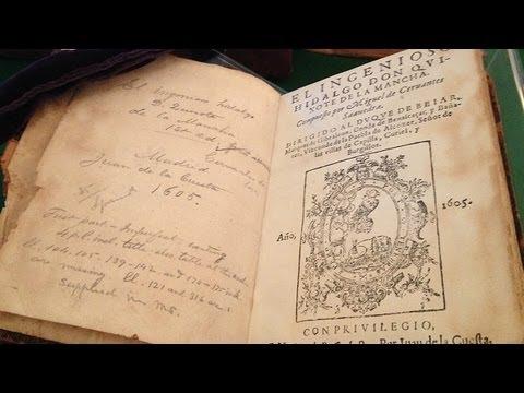 vea-el-primer-quijote-y-el-primer-diccionario-en-español