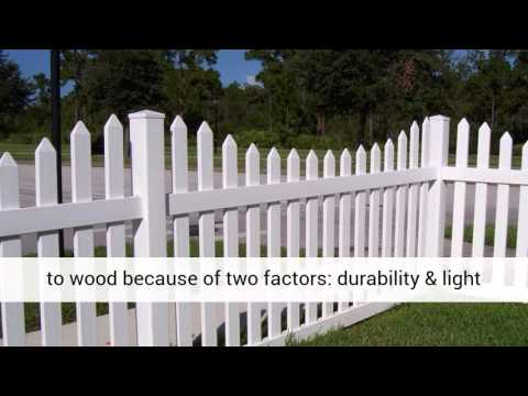 The Advantages Of Using Pvc Vinyl Fence Youtube