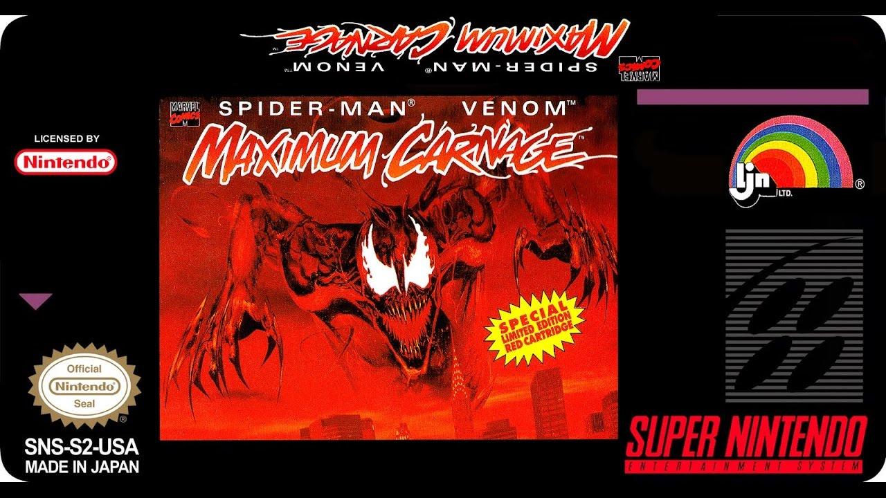 Spider Man Venom Super Nintendo Free Download Game