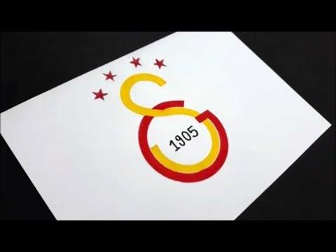 2018 Turk Telekom Arena Stadyumu 4 Yildizli Galatasaray Logosu