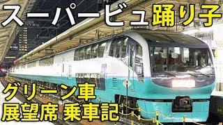 【裁判沙汰】ハイクオリティ・グリーン車連結 スーパービュー踊り子に乗車