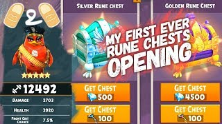 Angry Birds Evolution Open Rune Chests Opening Claude Gameplay