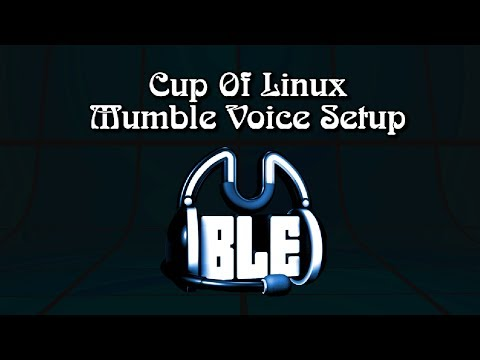 Mumble Voice Chat Tutorial
