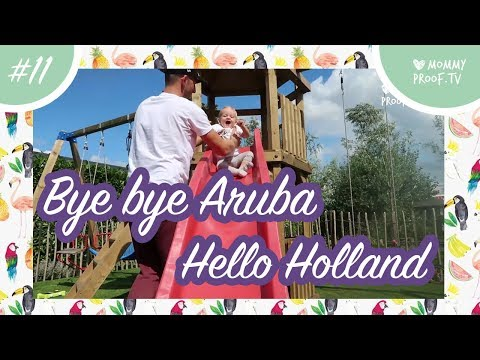 MommyVlog #11: Bye Bye Aruba. HELLO Holland! NATALIE and fam are BACK IN TOWN!