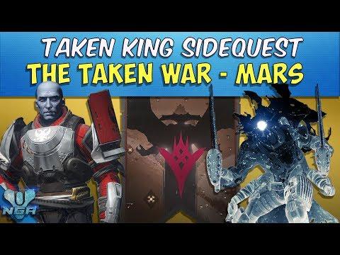 Destiny -Complete - Gameplay - Walkthrough - The Taken War: Mars - Quest - PS4