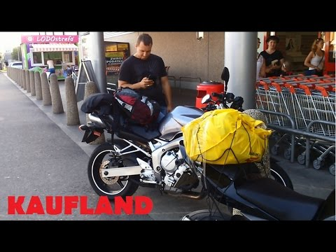 KELIONE I LENKIJA APSIPIRKTI 2 Покатушка в Польшу на мотоциклах Yamaha FZ6 Kawasaki Z750 в магазин