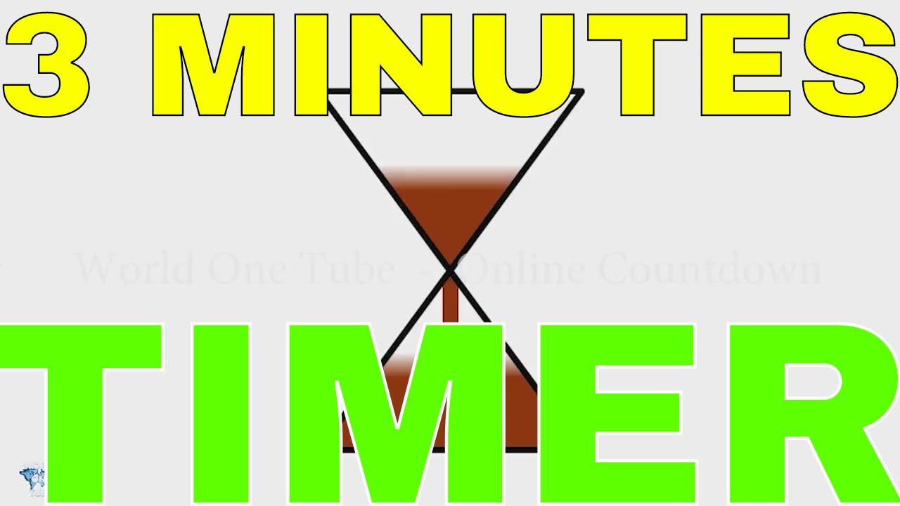3 Minutes Sand Timer