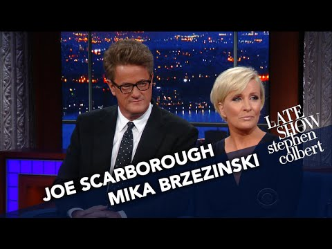 New Canaan's Joe Scarborough Tells Colbert Why He's Done With The GOP