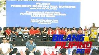Tatlong senatorial candidates ng HNP, hindi inendorso ni Pres. Duterte