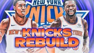 7 90+ OVRERALLS? REBUILDING THE NEW YORK KNICKS! NBA 2K20