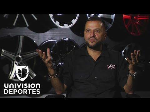 Alex Vega, el genio que da vida a los sueños con motor de grandes deportistas