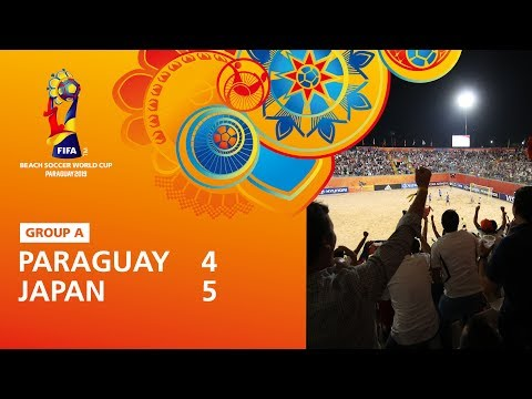 Paraguay v Japan [Highlights] - FIFA Beach Soccer World Cup Paraguay 2019™