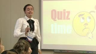 Урок английского языка, Колесникова Е. А., 2018