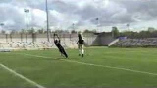 David Beckham: NFL Wide Receiver (Futbol Meets Football)
