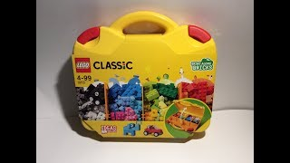 "LEGO Classic 10713 ""Creative Suitcase"" Unboxing, Part Analysis, Speedbuild & Review"