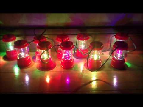 Coleman String Lantern Lights : coleman LED String lights ???????? - YouTube