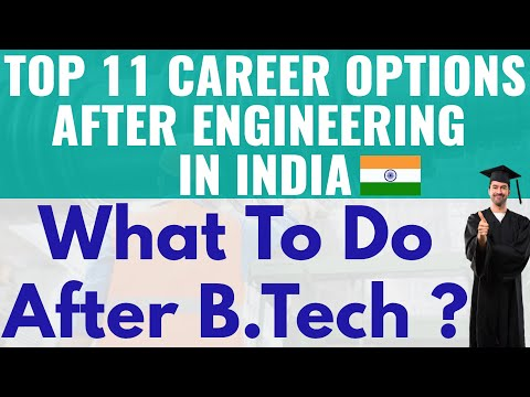 Top 11 Career Options After Engineering || What to do after Engineering? ( Trending in 2021)