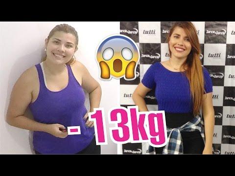 Como perdi 13kg? 😱 Meu emagrecimento | Iryane Carollyne