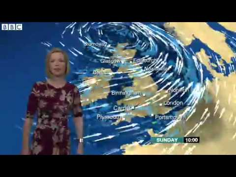 BBC weather report  Flood warnings and strong winds 2