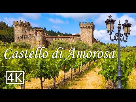 Italian Style Castle In California - Castello Di Amorosa - [4K]