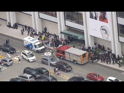 Gunfire causes panic, mass evacuation at Toronto mall